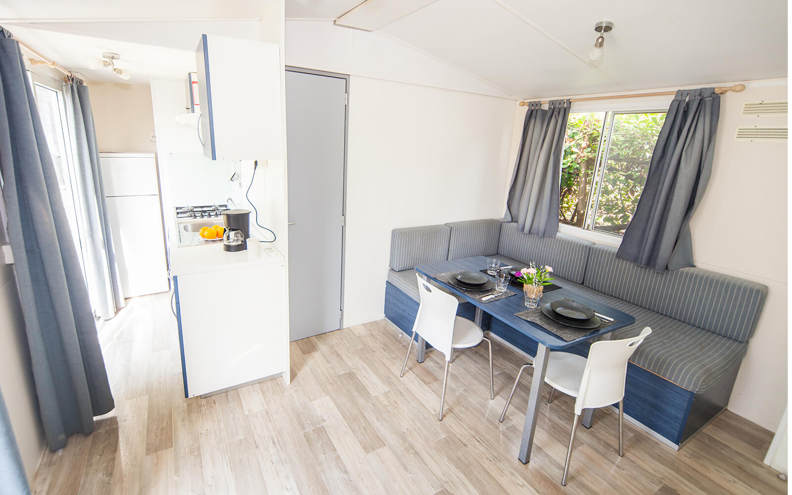 Interior of Comfort mobile home