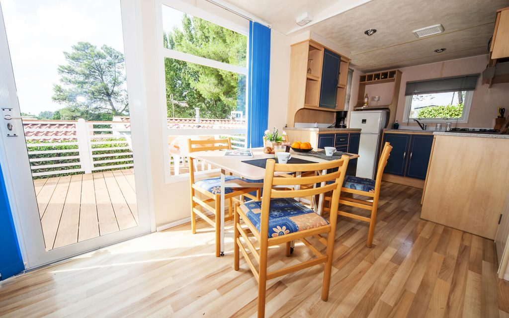 Kitchen and Seating Area of Superior Mobile Home
